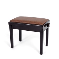 Profile HY-PJ023-RW Piano Bench - Affordable piano bench with adjustable height in rosewood gloss finish.