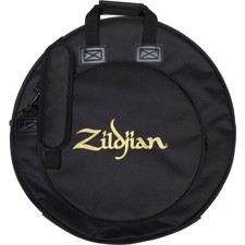 "Rugged and streamlined 22"" cymbal bag features a 16"" expandable HiHat pocket for increased cymbal capacity. - Zildjian ZCB22PV2 Premium Cymbal Bag 22"""