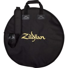 "Streamlined 22"" cymbal bag features two graduated cymbal dividers - Zildjian ZCB22D Deluxe Cymbal Bag 22"""