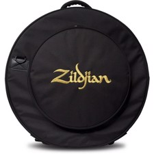 "Rugged and streamlined 24"" cymbal bag features a 16"" expandable HiHat pocket for increased cymbal capacity. - Zildjian ZCB24GIG Premium Cymbal Bag 24"""