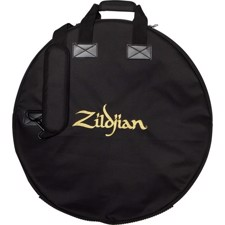 "Streamlined 24"" cymbal bag features two graduated cymbal dividers - Zildjian ZCB24D Deluxe Cymbal Bag 24"""
