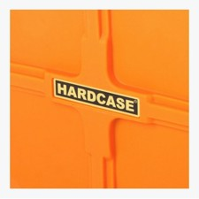 "Case with wheels for stands and accessories. Extra wide. Int.: 92 x 47 x 26,7 cm, max 50 kg. Orange. - Hardcase 36"" Hardware Case Orange"