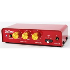 BELLARI PA550 3 Channel Preamp - Three Channel Preamp with Phono