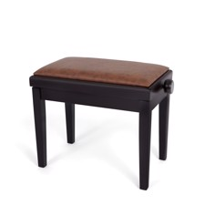 Profile HY-PJ023-RWM Piano Bench - Affordable piano bench with adjustable height in rosewood matt finish.