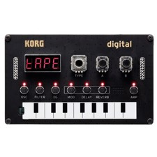 KORG NTS-1 NuTekt Synth DIY KIT - The Nu:Tekt NTS-1 digital KIT is a unique, flexible, and easy DIY synthesizer that you can easily assemble yourself, without any soldering (tool included!).