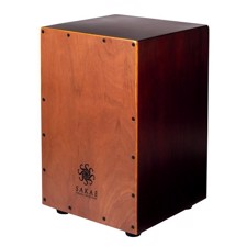 SAKAE CAJ-100 Cajon Percussion Natural front color