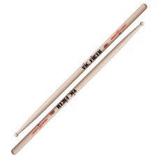 Vic Firth F1 American Classic® - Medium round tip with a short tapered neck. Great for fusion or electric jazz.