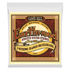Ernie Ball EB-2063 Earthwood 5-stringed Banjo, Bluegrass