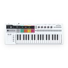 Arturia KeyStep Pro USB Sequencer Controller - Hardware keyboard with advanced sequencer and arpeggiator