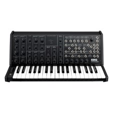 KORG MS-20-FS Analog Synth, Black - A new twist on the long-awaited full-size MS-20, reborn in four limited-edition colors.