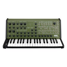 KORG MS-20-FS Analog Synth, Green (Khaki) - A new twist on the long-awaited full-size MS-20, reborn in four limited-edition colors.