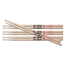 Vic Firth 5A Hickory Value Pack