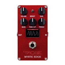 VOX VE-ME Valvenergy Mystic Edge - The VALVENERGY series offers four effect pedals that provide the response and harmonic distortion of a tube amp, putting popular amp sounds into a pedal.