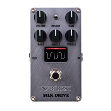 VOX VE-SD Valvenergy Silk Drive - The VALVENERGY series offers four effect pedals that provide the response and harmonic distortion of a tube amp, putting popular amp sounds into a pedal.