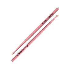 Vic Firth Kidsticks Pink - Engineered to make playing easy for the very young drum set player—ages 3 to 8. Produces a quality sound.