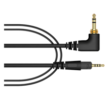 Pioneer HC-CA0702-K 1.6 m straight cable for the HDJ-S7-K headphones (black)