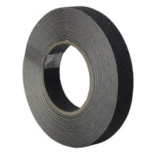 Skridsikkert Tape - Sort. 25 mm x 15 m.