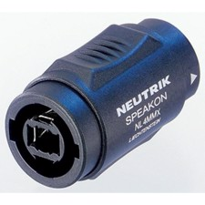Neutrik NL4MMX SpeakON samleled for 2 kabler