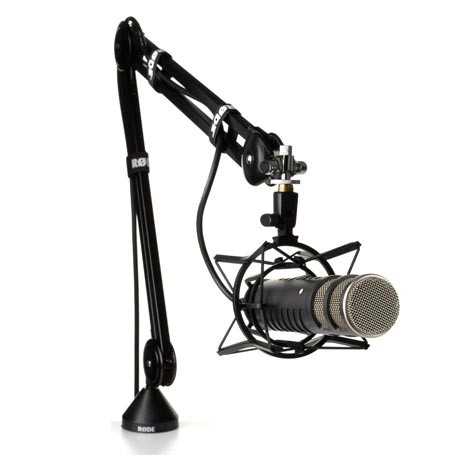 Mikrofon arm til bord